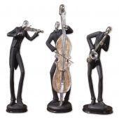 Uttermost Musicians Decorative Figurines  3個組