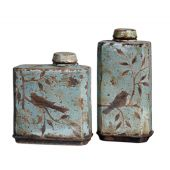 Uttermost Freya Light Sky Blue Containers  2個組
