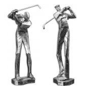 Uttermost Practice Shot Metallic Statues  2個組