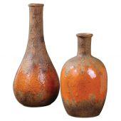 Uttermost Kadam Ceramic Vases  2個組