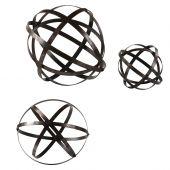 Uttermost Stetson Bronze Spheres  3個組