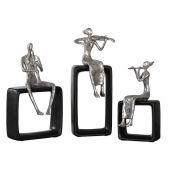 Uttermost Musical Ensemble Statues  3個組