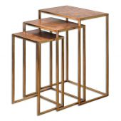Uttermost Copres Oxidized Nesting Tables  3個組