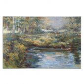 Uttermost Lake James Hand Painted Wall Art