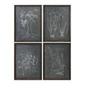 Uttermost Root Study Print Art  4個組