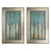 Uttermost Whispering Wind Framed Art  2個組