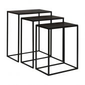 Uttermost Coreene Iron Nesting Tables  3個組