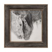 UTTERMOST Custom Black And White Horses 絵画・印刷