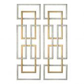 Uttermost Aerin Geometric Wall Art  2個組