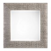 Uttermost Cressida Distressed Silver Square Mirror