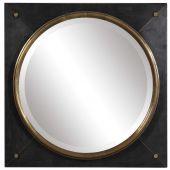 Uttermost Tobiah Modern Square Mirror