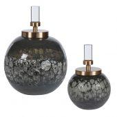 Uttermost Cessair Art Glass Bottles  2個組