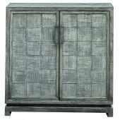 Uttermost Hamadi Distressed Gray 2 Door Cabinet