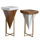 Uttermost Kanos Accent Tables  2個組