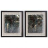 Uttermost Rustic Patina Framed Prints  2個組