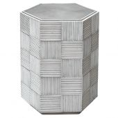 Uttermost Silo Hexagonal Accent Table