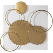 Uttermost Adagio Golden Disk Wall Art