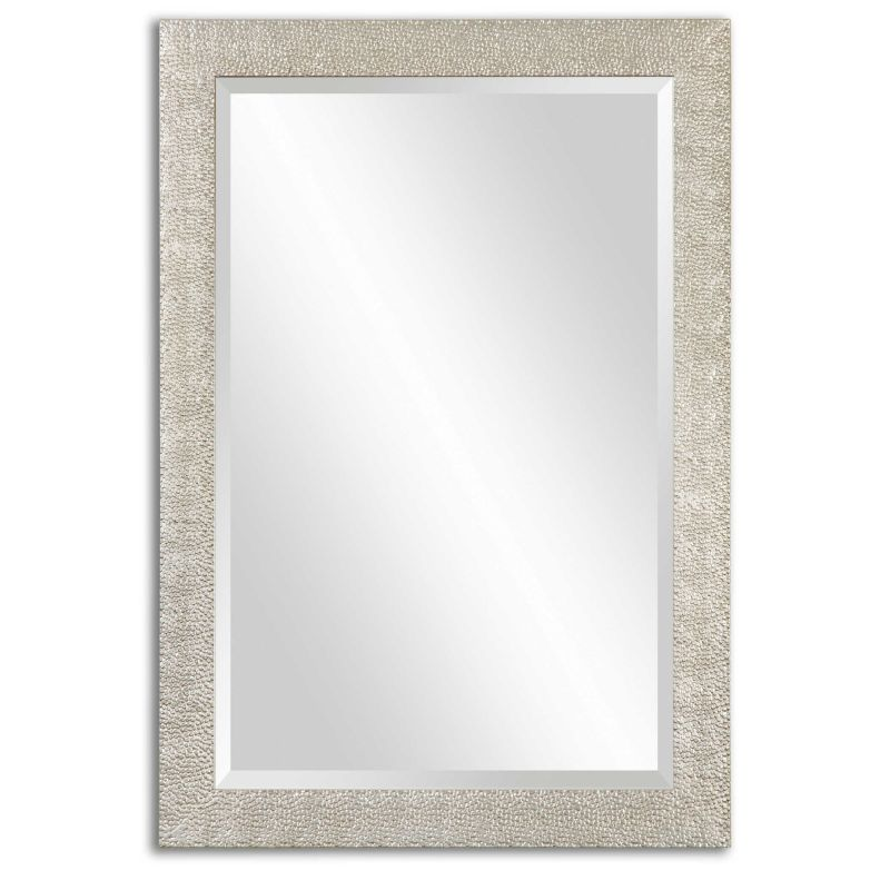 Uttermost Porcius Antiqued Silver Mirror