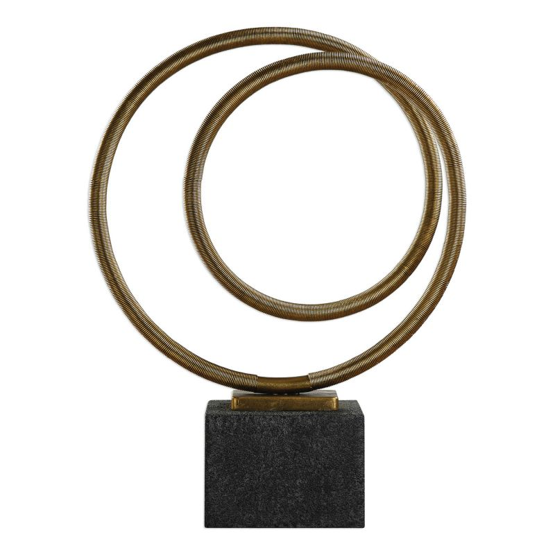 Uttermost Oja Gold Sculpture
