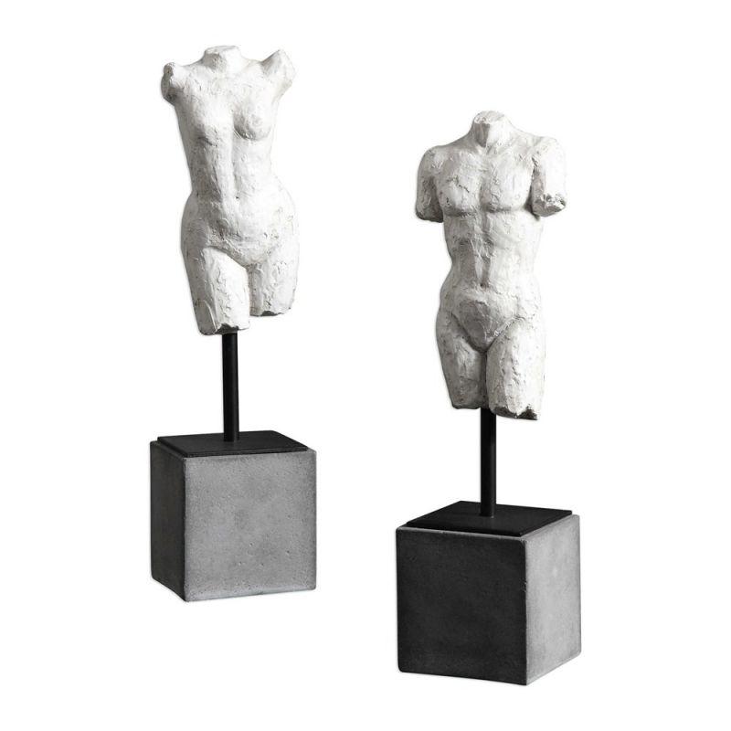 Uttermost Valini Torso Sculptures  2個組