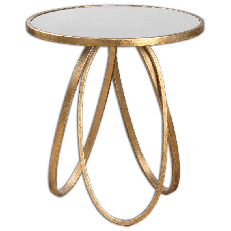 Uttermost Montrez Gold Accent Table