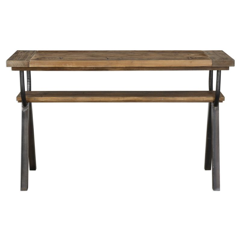 Uttermost Domini Industrial Console Table