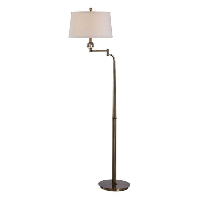 Uttermost Melini Swing Arm Floor Lamp