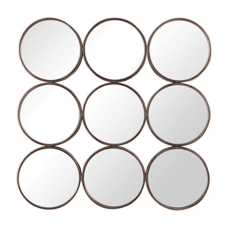 Uttermost Devet Welded Iron Rings Mirror
